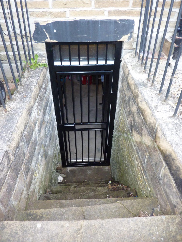 Cellar Door And Window Security Grilles