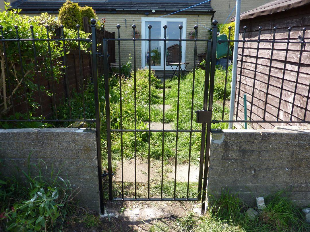 Single Gate With Railings
