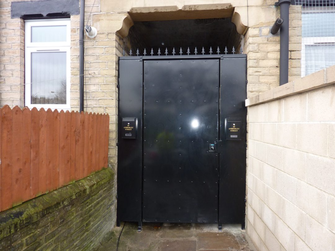 Sheeted Gate
