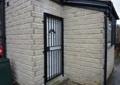 Security Grille To Opticians Business In BD4
