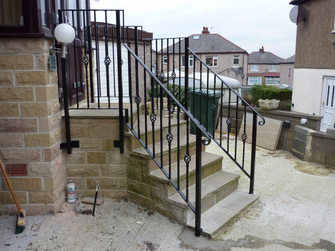 Cranked Handrail