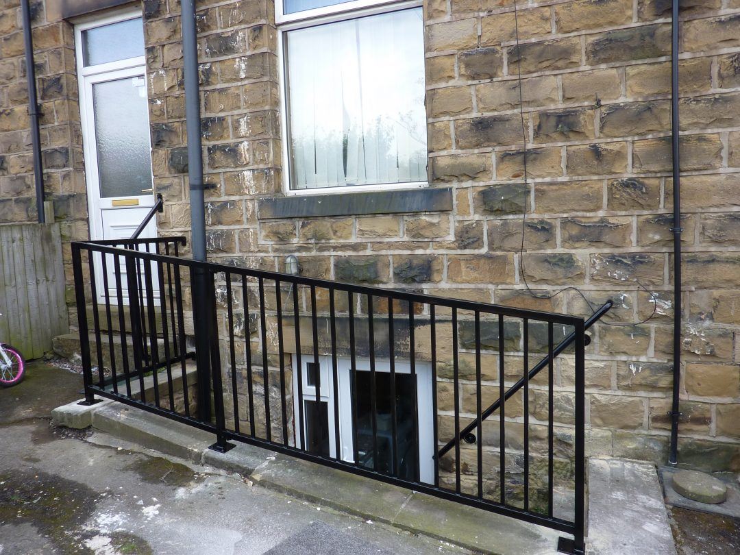 Sheeted Gate & Railings