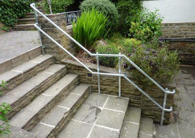Garden Steps Handrail