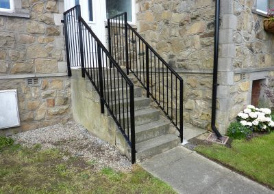 Handrail To Steps