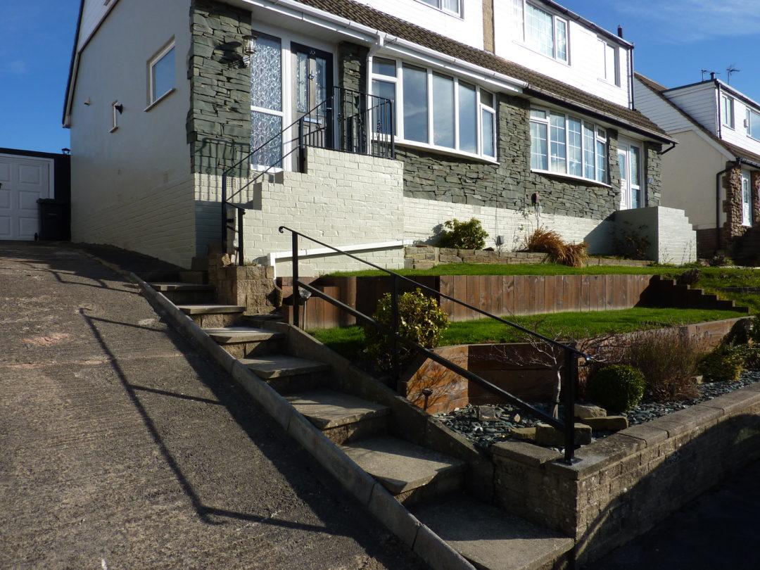 Steep Handrails In Wrose