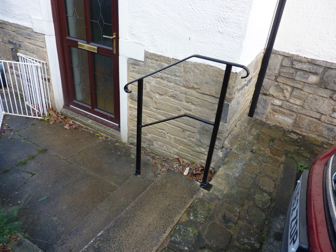 Two Step handrail In Burley In Wharfedale