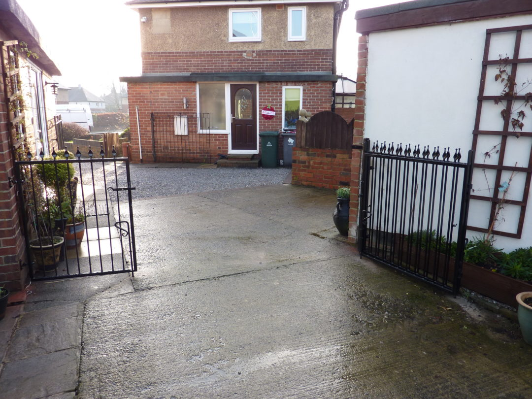 Bi-Folding Gate In Batley