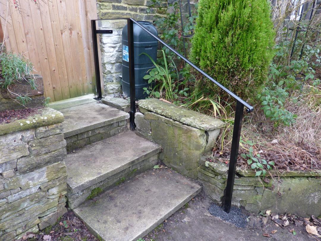 Door Step Handrail In Cottingley