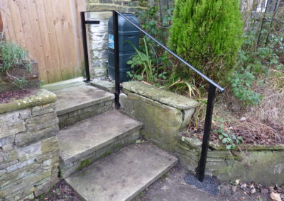 Door Step Handrail In Cottingley