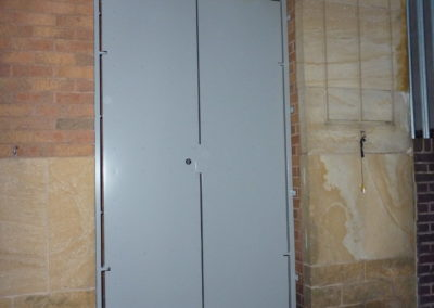 Quick Exit Double Sheeted Gate