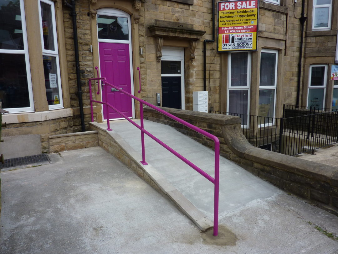 Security Grille & Handrails in Keighley