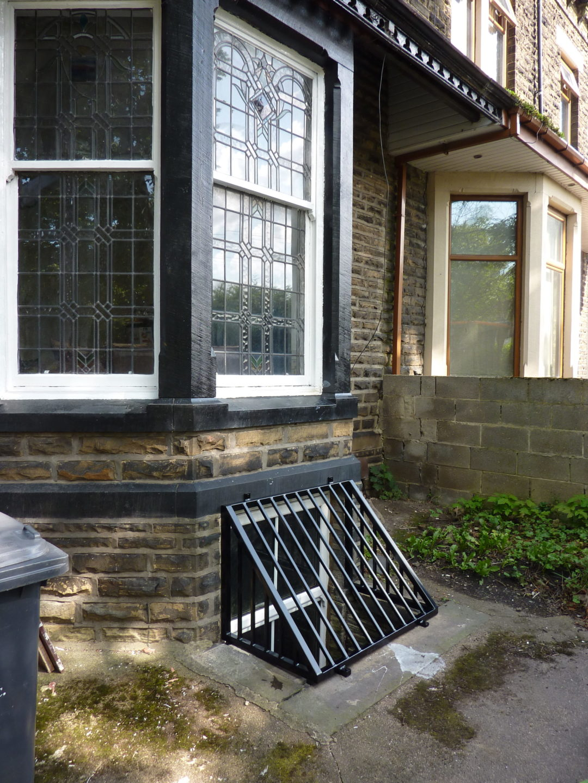 Cellar Window Grilles In BD3