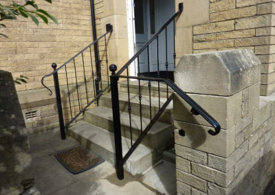 Door Step Handrail In Mirfield