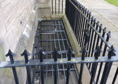 Security Grilles At Leeds Minster