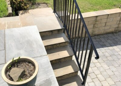Handrail To Steps In BD2