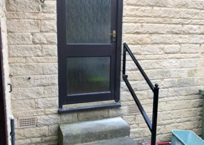 Doorstep Handrail In Cleckheaton