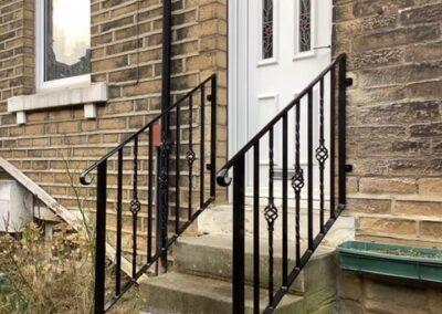 Doorstep Handrail In Shipley
