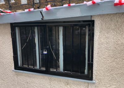 Window Grille & Sheeted Gate In BD3