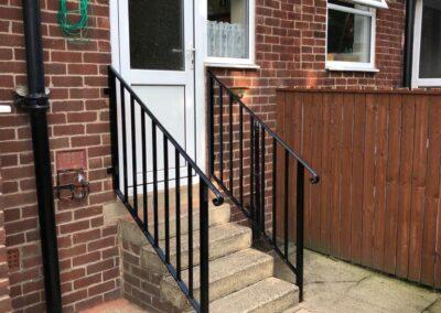 Doorstep Handrail In Cookridge