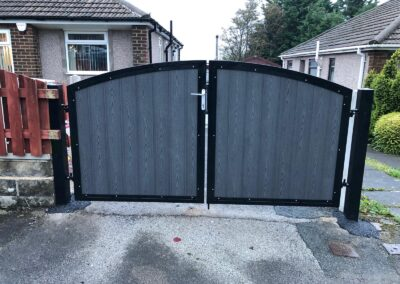 Composite Double Gate & Garage Door Grille