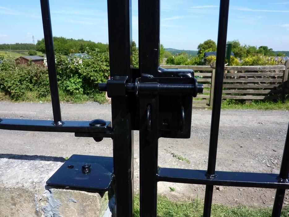 Gate latch & lock