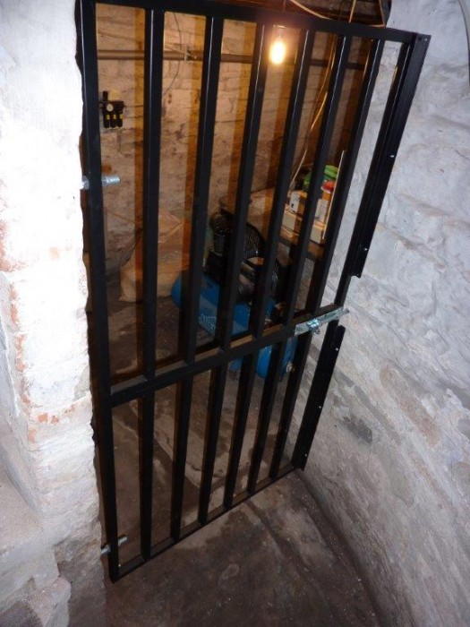 Cellar Security Gate