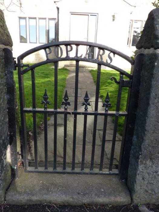 Existing Gate From Road
